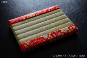 mandarin dress chinese チャイナドレスの生地を使ったミニ畳