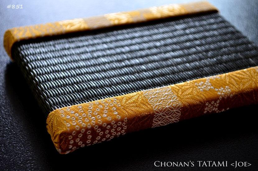 金襴和の縞模様ゴールド畳