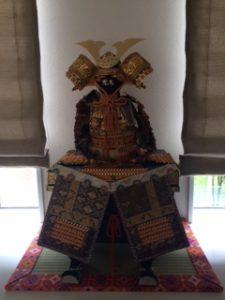 鎧兜飾り用に作ったフルオーダーメイドミニ畳