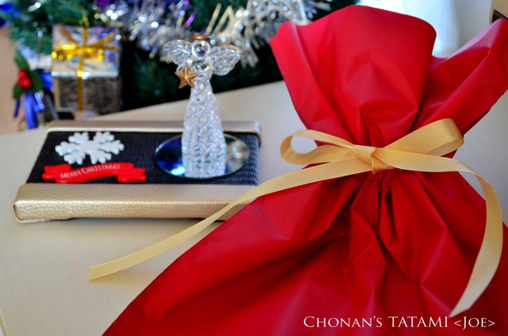 フェイクレザー シャンパンゴールド クリスマス ミニ畳 畳 クリスマスプレゼント