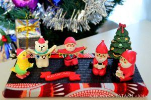 アフリカプリント クリスマス 畳 ミニ畳 長南畳店