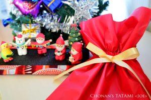 アフリカプリント 畳 ミニ畳 クリスマス 長南畳店