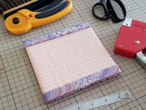 金襴 流線桜 春の新作 畳 ミニ畳 長南畳店
