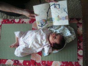 出産祝い 赤ちゃん用の畳