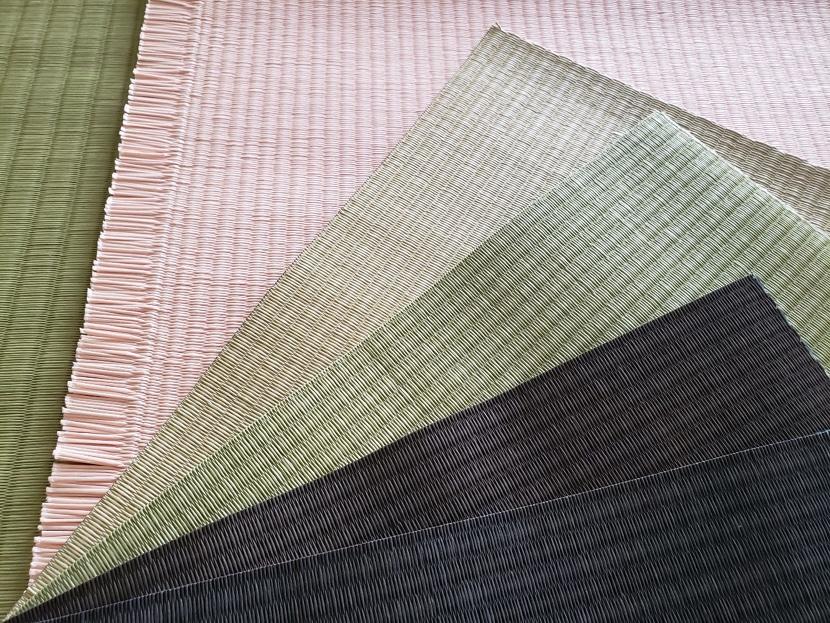 ミニ畳専門店 長南畳店が取り扱う和紙製畳表
