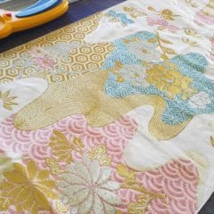 ミニ畳専門店 長南畳店は着物や帯からミニ畳へのリメイクもおこなっております。
