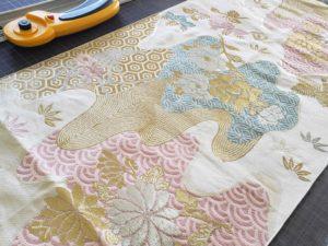 ミニ畳専門店 長南畳店は帯からミニ畳へリメイクもします