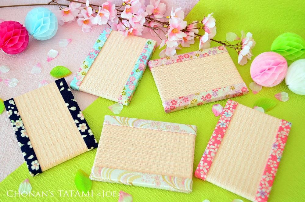 桜柄が素敵で可愛いミニ畳