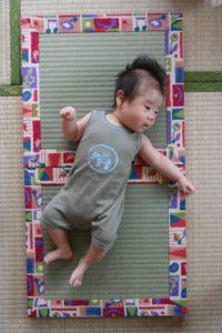 出産祝いの赤ちゃん用フルオーダーメイド畳