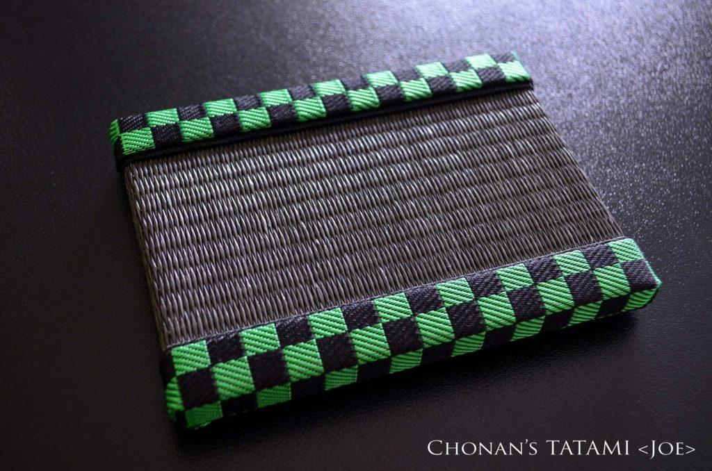 きめつのやいばのたんじろうとねずこイメージで作ったおしゃれなミニ畳