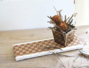 畳とフラワースタイリング畳を使ったテーブルコーディネートby Styling Peruru