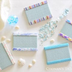 夏にぴったりな涼しげ色のミニ畳